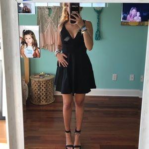 cute black mini dress :-)